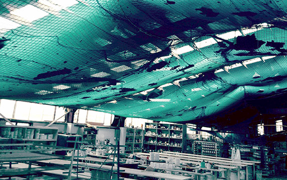 Debris Amp Containment Netting Contain Falling Debris