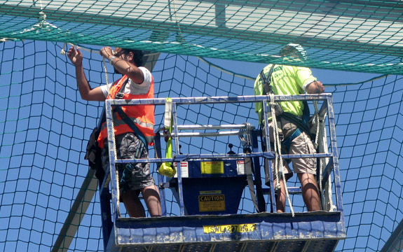Fall Protection Netting Make Your Site Safe