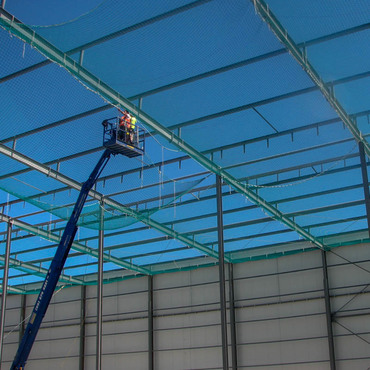 Safety Nets to new 30,000 sq.m. cool store